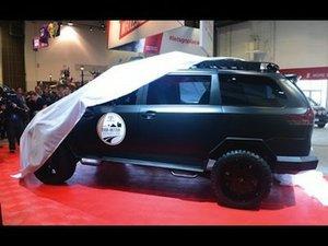 Toyota brings UUV to 2015 SEMA Show teaser
