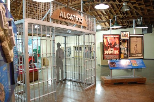 Alcatraz Exhibit at Yuma Prison