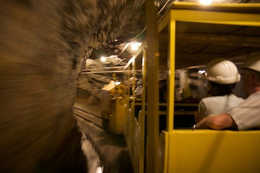 Brittania Underground Train and Mine Museum