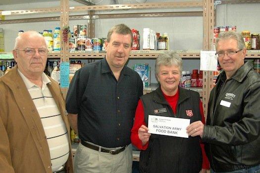The BC Interior RV Society donation