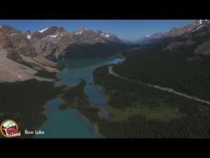 Icefields Parkway, Banff National Park - aerial tour teaser