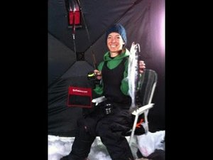 BC Fishn - How to ice fish for Kokanee teaser