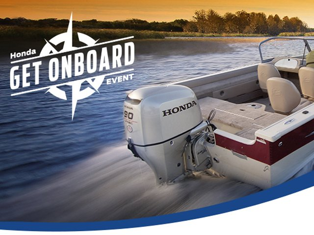 Honda 'Get Onboard' event - Jan. 7 to March 31