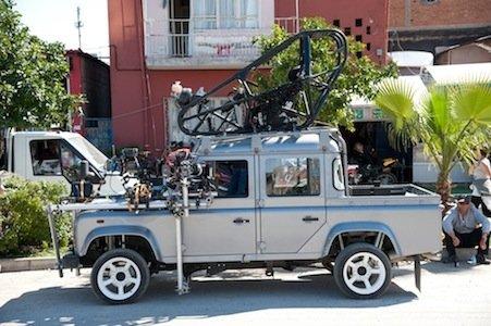Jmaes Bond Land Rover