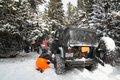 Snow Wheeling at Apex