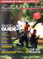 RV Traveler Magazine cover
