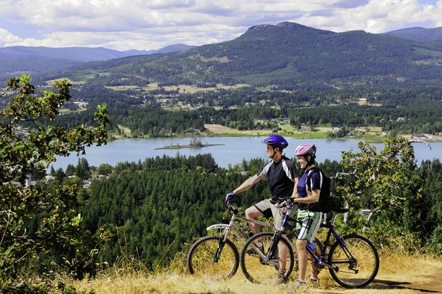 Cycling Mt Tzouhalem  photo Tourism Cowichan.jpg