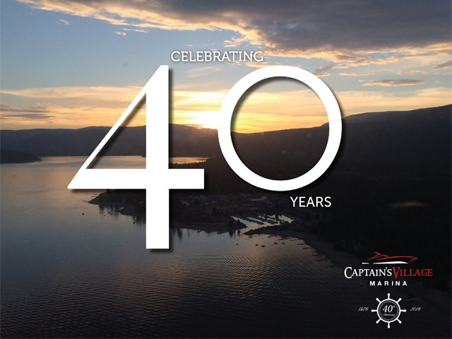 Captain's Village Marina 40th Anniversary