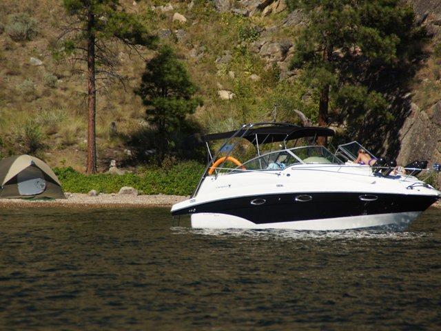 Boat Camping Suncruiser