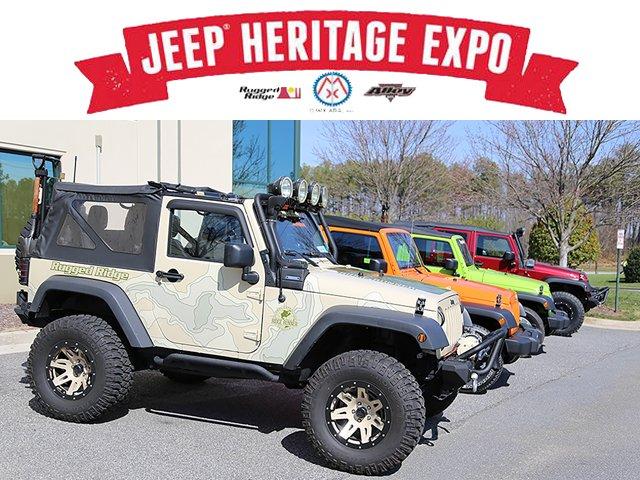 Omix-ADA's Inaugural Jeep Heritage Expo July 16