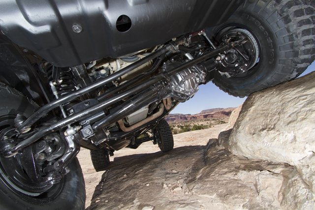 Jeep Performance Parts 4-inch Lift Kit on Mopar's Red Rock Res