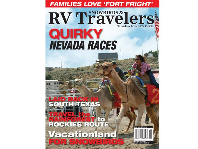 Snowbirds & RV Travellers 13.4 is available now