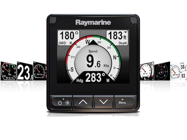 Raymarine's new i70s multifunction instrument display