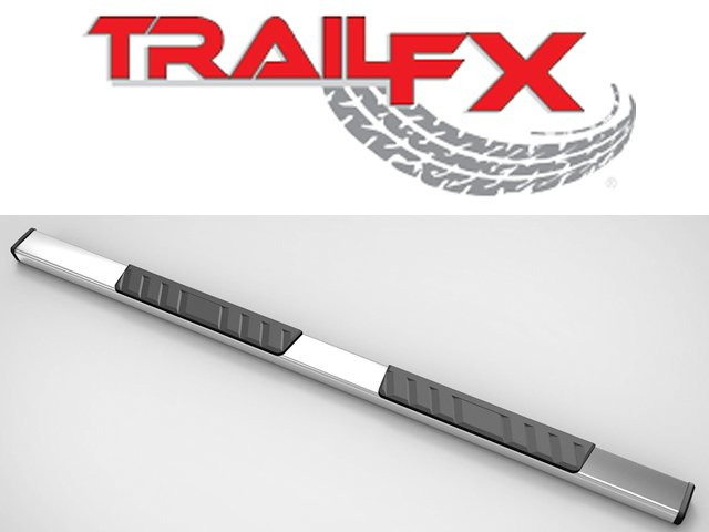"TrailFX's 4"" Trapezoid side steps"