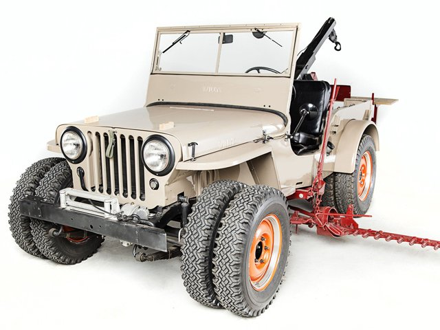 1946 Willys CJ-2A farm Jeep