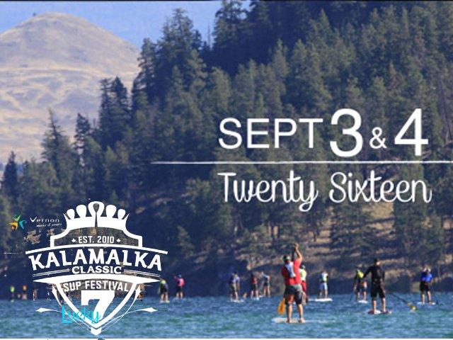 Kalamalka Classic Paddleboard Festival Sept. 3 & 4, 2016