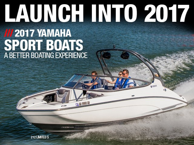 Yamaha announces New 19' & 21' Boats for 2017