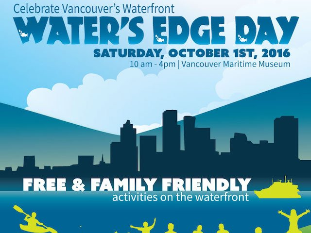 Water's Edge Day Oct. 1