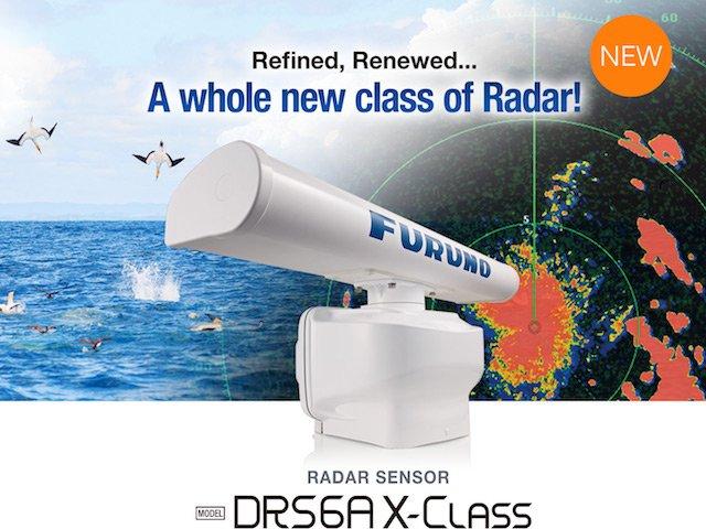 """DRS6AX """"X-Class"""" Radar"""