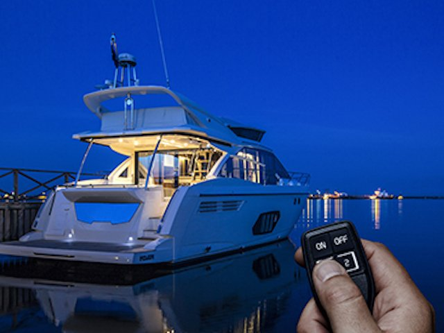 Full control & remote access with just one key - SunCruiser