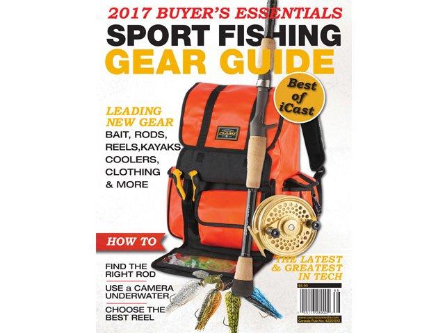 2017 sport fishing gear guide suncruiser for Fishing gear list