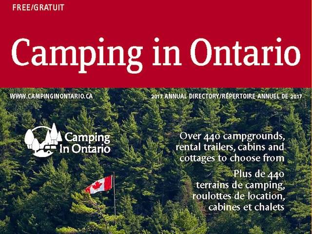 2017 Camping in Ontario directory