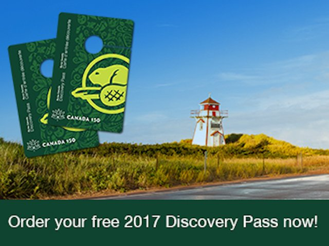 Free 2017 parks canada discovery pass suncruiser for Oregon free fishing day 2017