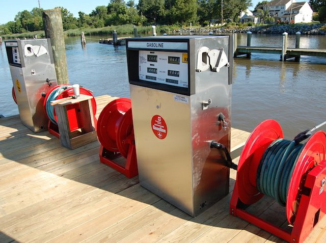 Marina fuel pump