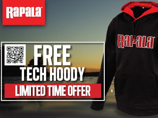 Rapala Performance Hoody Promotion
