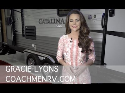 Coachmen RV explores Catalina SBX - Video teaser