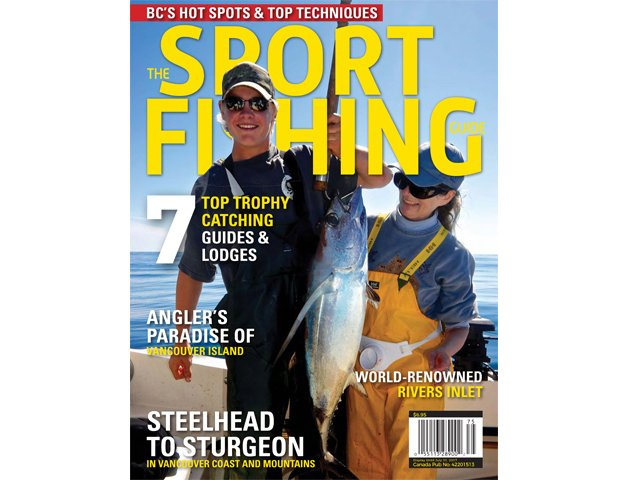 2017 Sport Fishing Guide cover