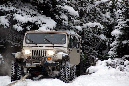 Snow Wheeling Apex Mountain