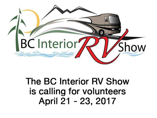 BC Interior RV Show needs volunteers