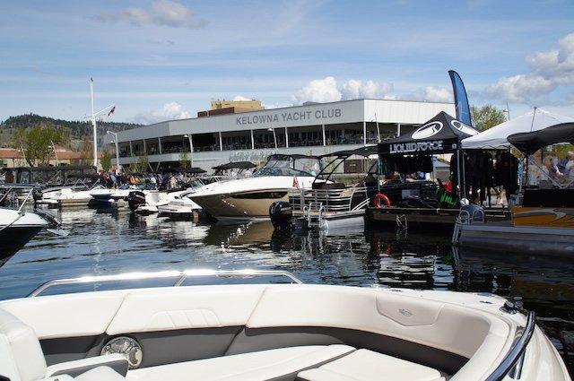 Kelowna Yacht Club Boat Show 2016