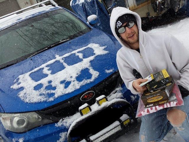 Just Jeeps Random 5th place winner Matt Kulesza with his Subaru.jpeg