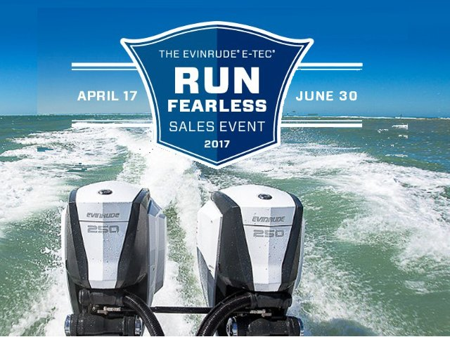 Evinrude 'Run Fearless Sales Event'