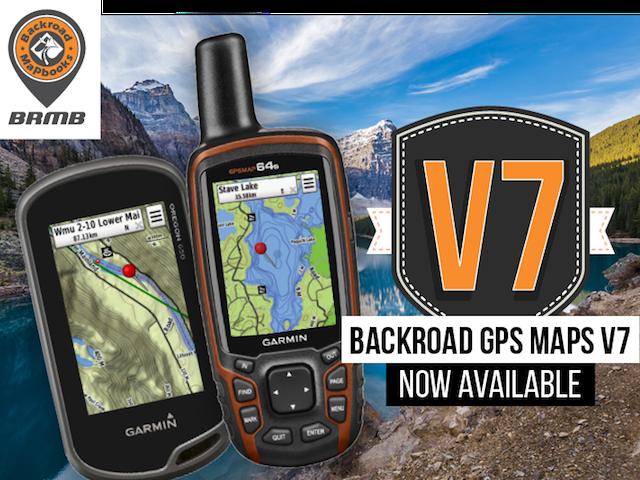 V7 Backroad GPS maps