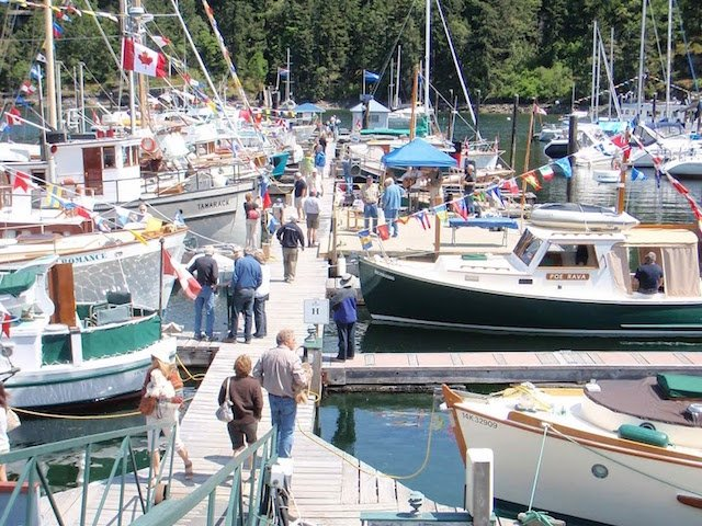 Maple Bay Marina Wooden Boat Festival