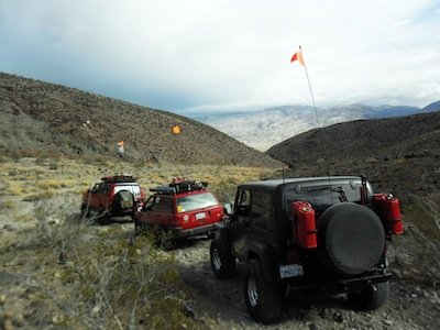 Dune Flags at Death Valley