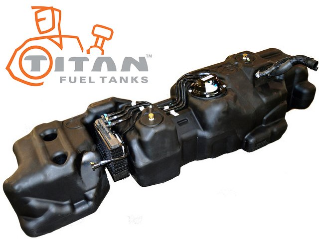 Titan Ford Short Bed, Crew Cab fuel tank
