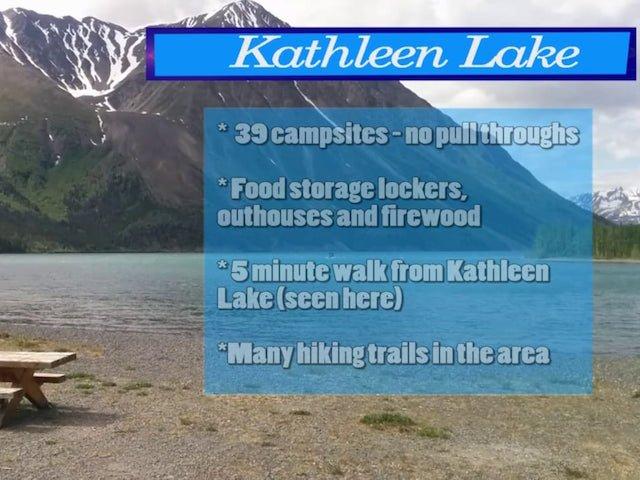 Kathleen Lake Campground – Kluane National Park