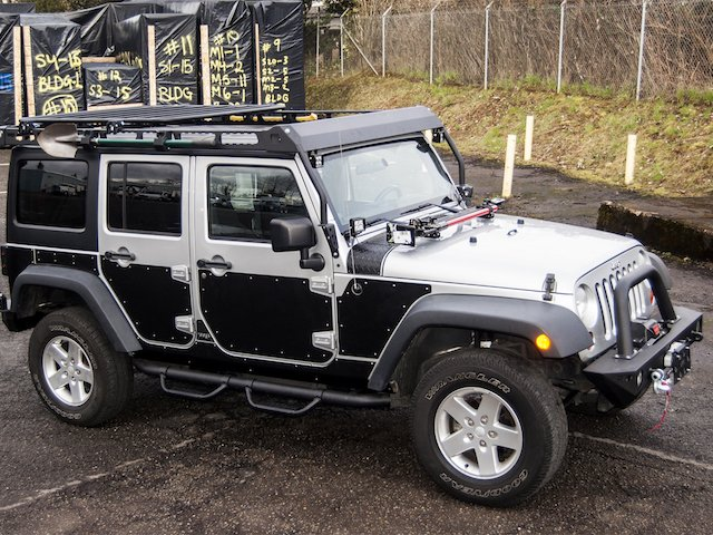 Jeep Wrangler JKU Full Side Armor