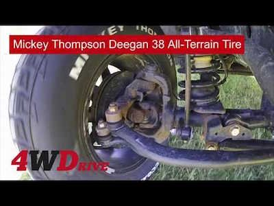 Mickey Thompson Deegan 38 All Terrain Tire - Review teaser
