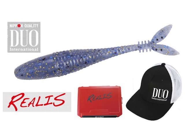 Realis v tailshad giveaway ends june 13 suncruiser for Free fishing tackle giveaway