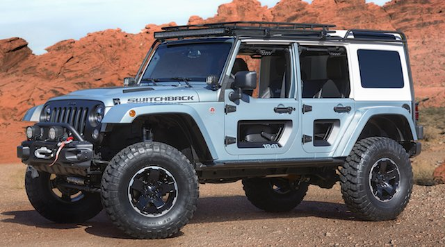 Easter Jeep Switchback Concept