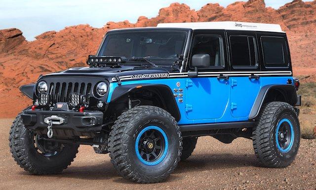 Easter Jeep Luminator Concept
