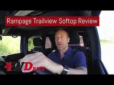 Rampage Trailview Frameless Soft Top Review - Video teaser
