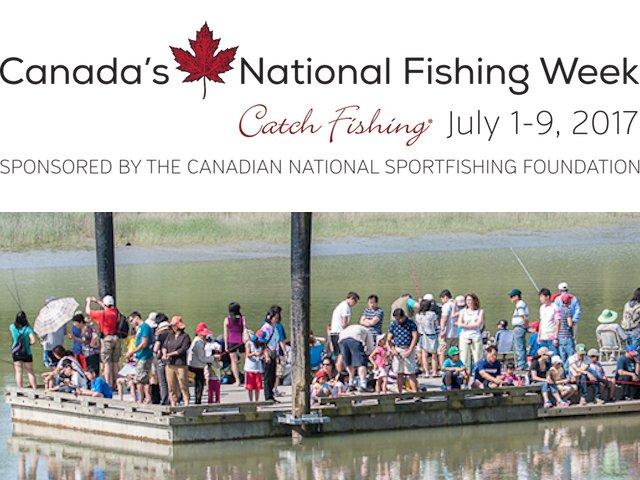 National Fishing Week July 1-9