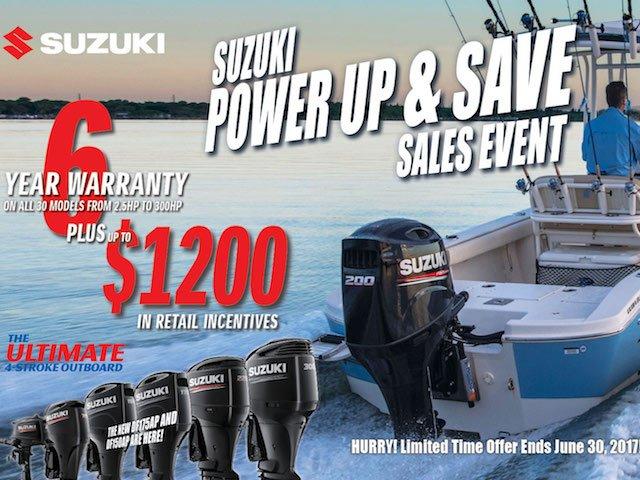 Suzuki Power Up & Save Sales Event
