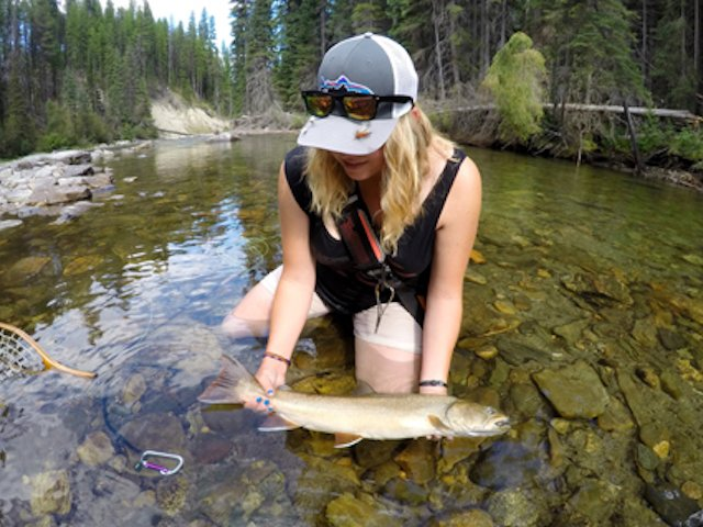 Fly fishing for bull trout spring through fall